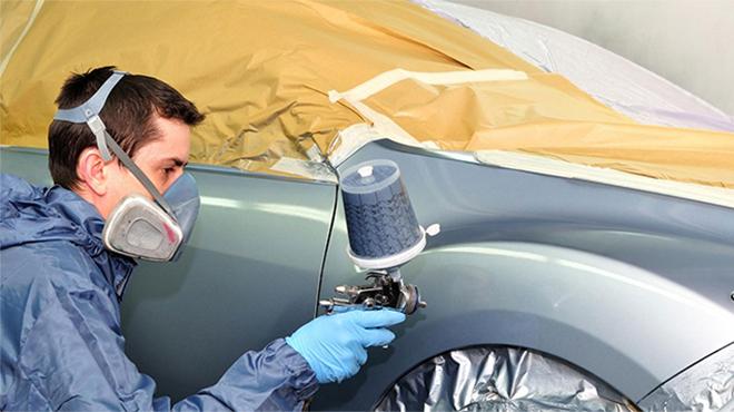 Khi sơn lại xe ô tô cần lưu ý điều gì?