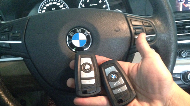 Sửa khóa xe ô tô BMW
