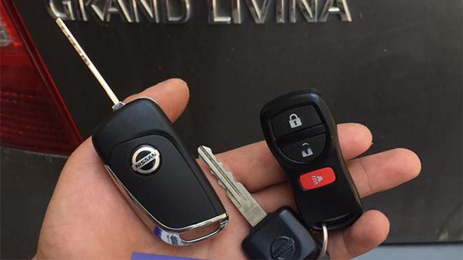 Sửa khóa xe ô tô Nissan