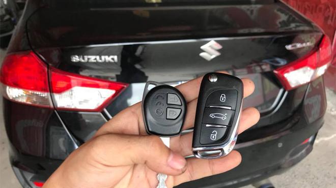 Sửa khóa xe ô tô Suzuki