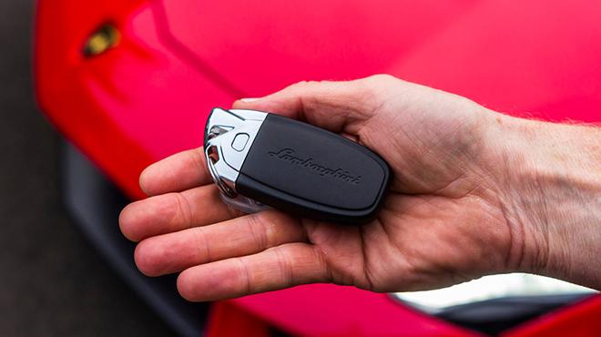 Sửa khóa xe ô tô Lamborghini