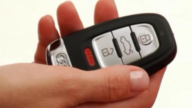Độ chìa khóa xe ô tô Audi