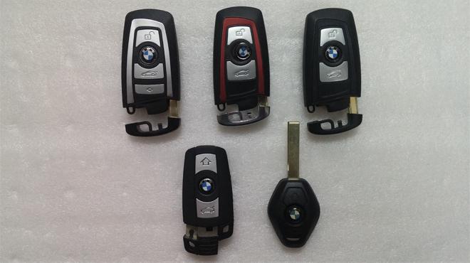 Độ chìa khóa xe ô tô BMW