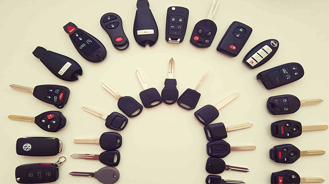 Ô tô có những loại chìa khóa nào trên thị trường?