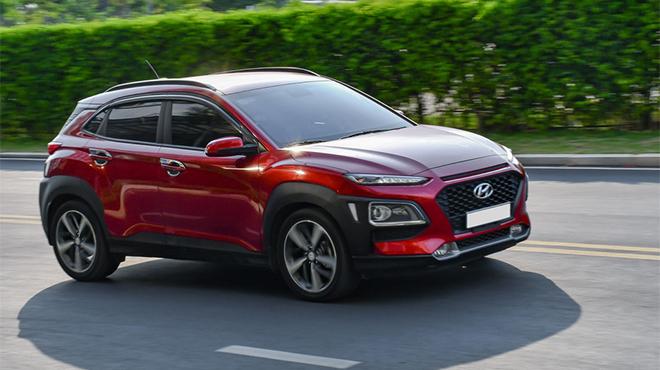Yếu tố nào dẫn đến ô tô Hyundai Kona dẫn đầu nhóm SUV tại Việt Nam