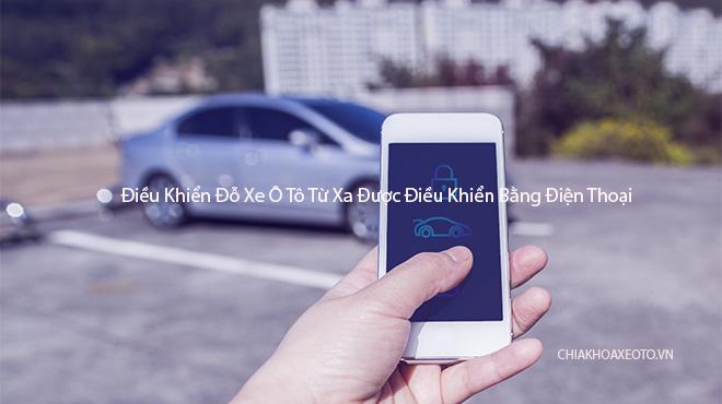 Công nghệ đỗ xe bằng điện thoại đã được sử dụng trên xe Volkswagen